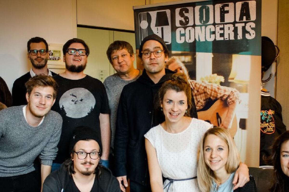 Bosse und SofaConcerts Team