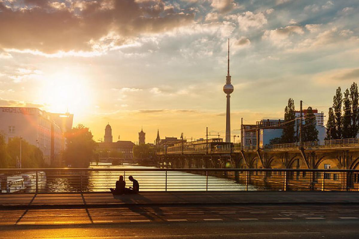Stadtaufnahme Berlin