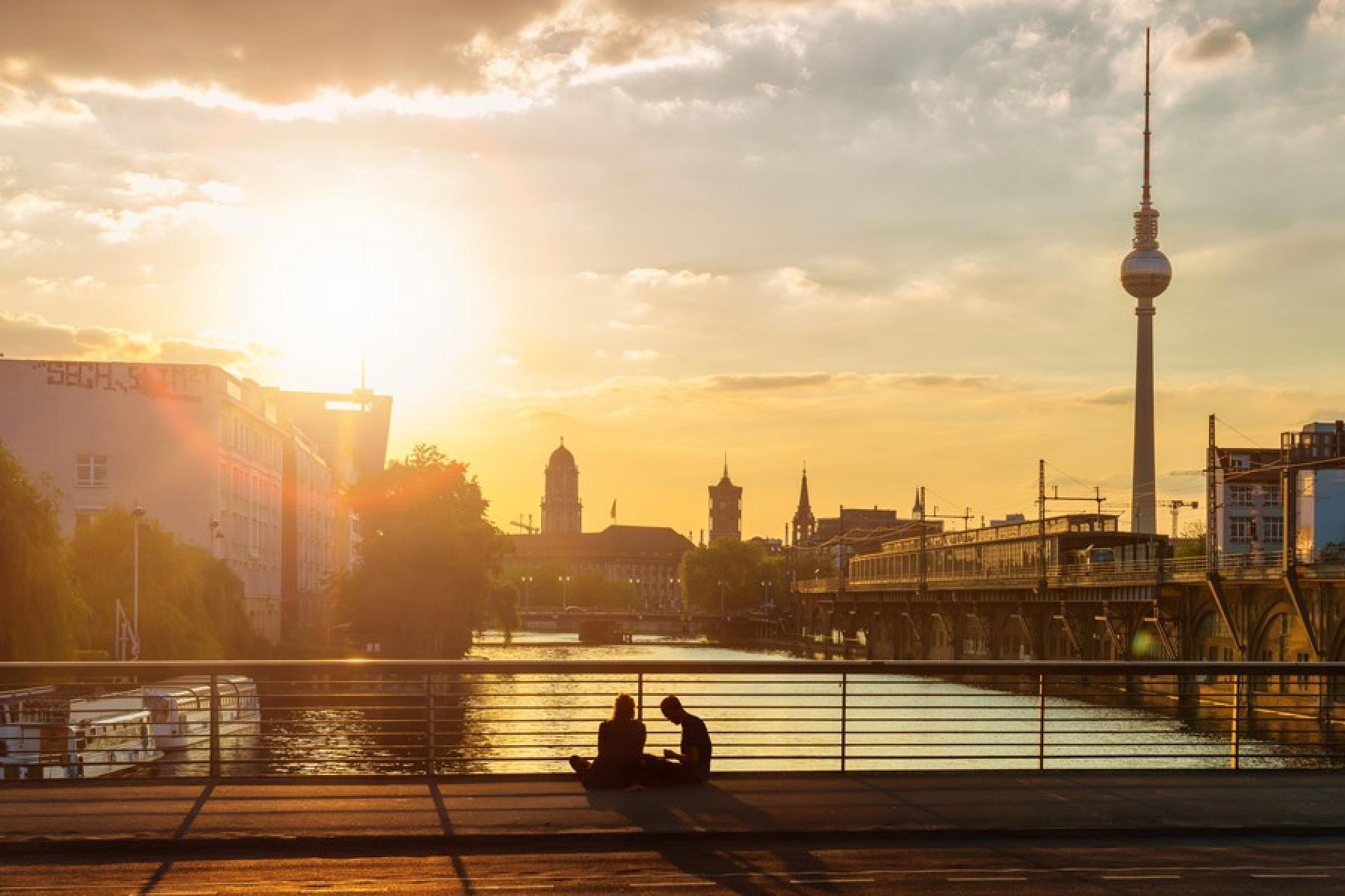 Berlin bei Abend
