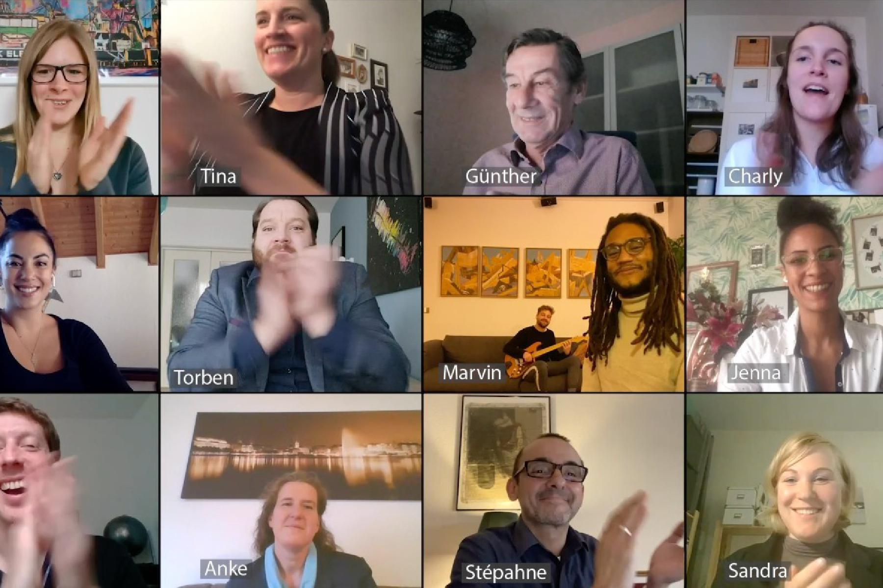Collage Livestream Überraschungskonzert mit Marvin Brooks