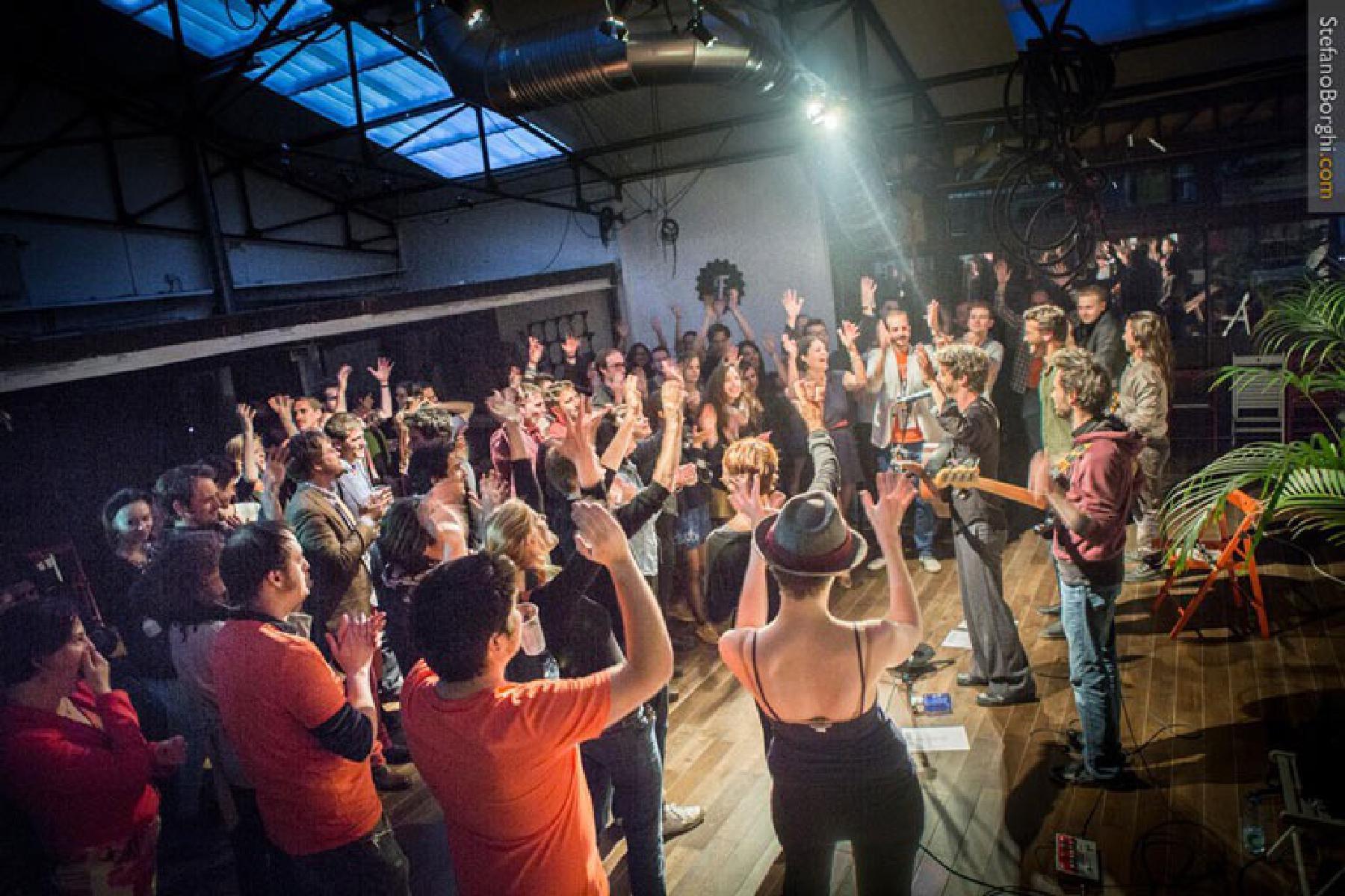 Firmenevent mit Live-Musik