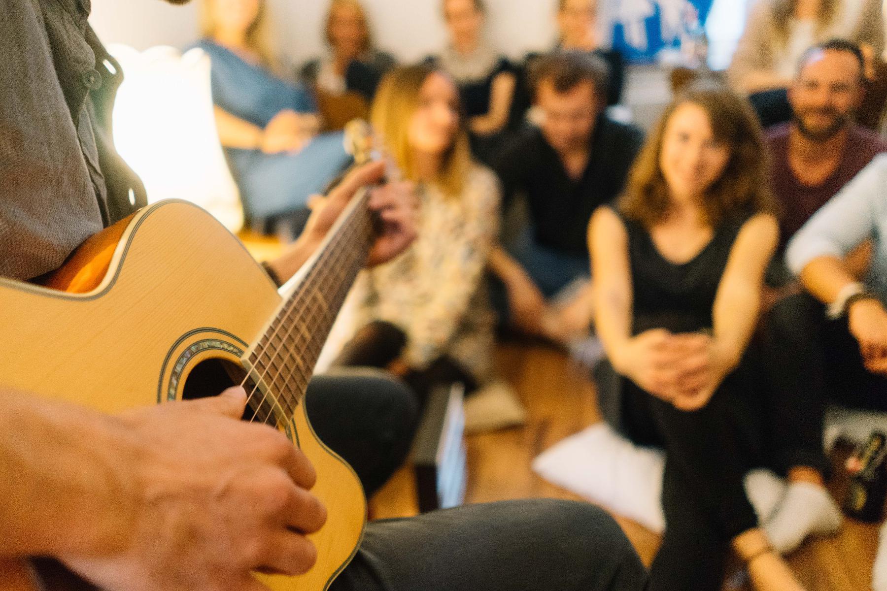 Gitarre im Fokus - Wohnzimmerkonzert